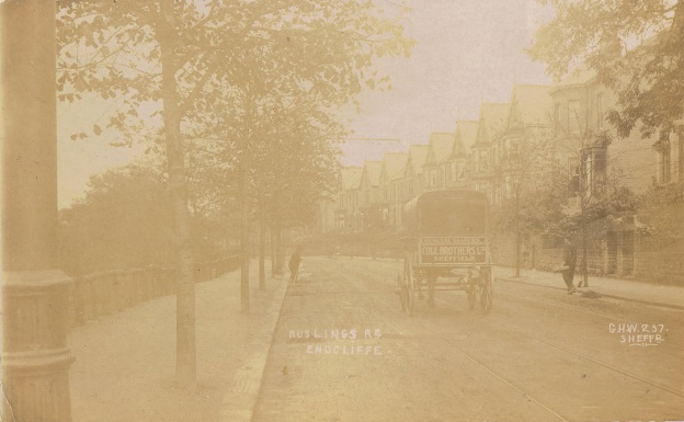 2.25 The Cole Bros delivery cart, Rustlings Road, Endcliffe, 1904