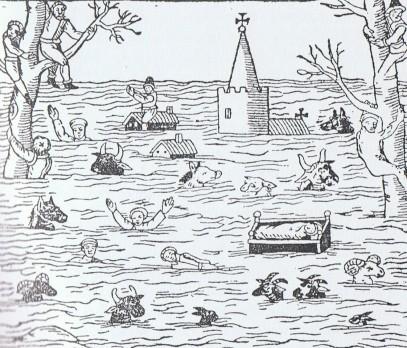Medieval flood Somerset