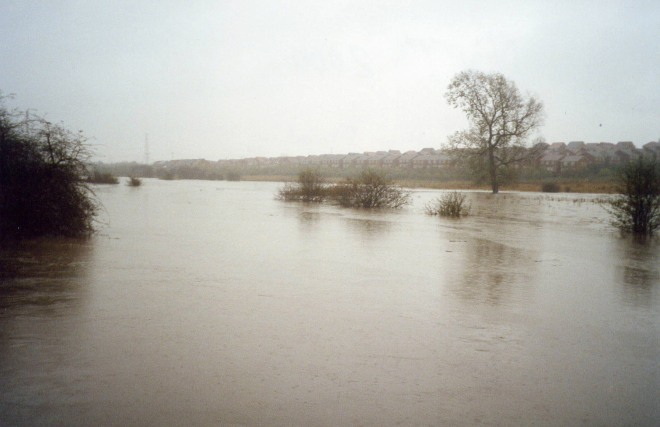River Rother Flood Winter 2000