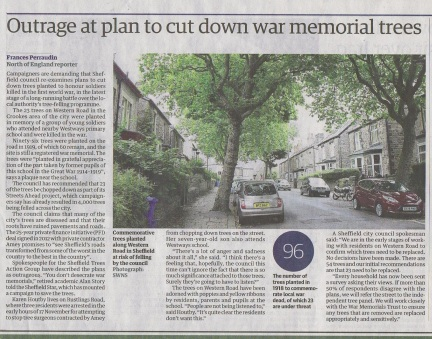 guardian-on-outrage-at-threat-to-wartime-memorial-trees-thursday-1-december-2016